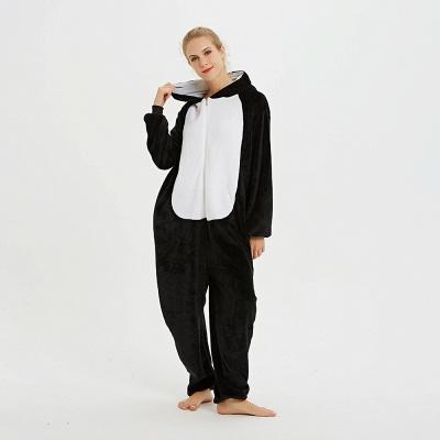 Cute Pyjamas for Women Huskie Onesies, Dark_4