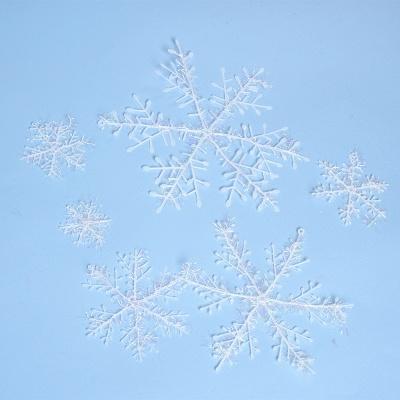 Christmas Decoration, Xmas Snow, Set of 6_2