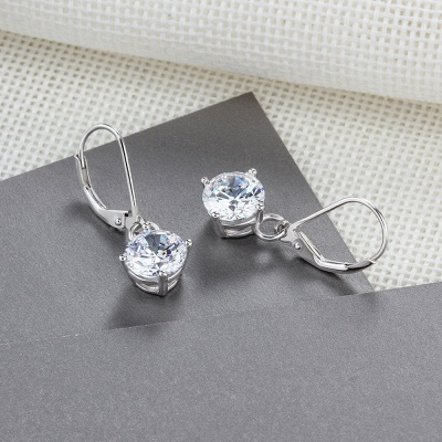 Personalized Alloy Plated Earrings Jewelry_5