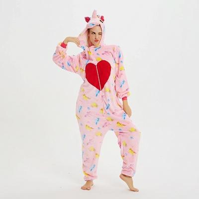 Cute Pyjamas for Women Unicorn Onesies, Pink_21