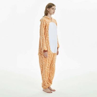 Cute Adult Deer Onesies Pajamas for Women_4