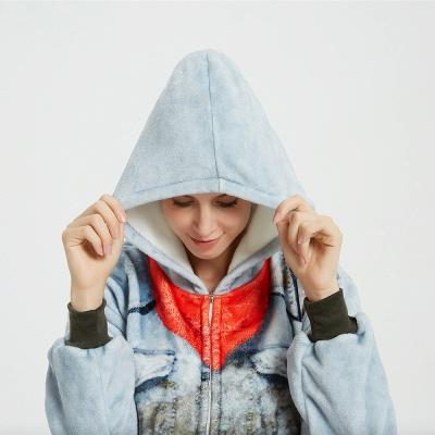 Cute Animal Pyjamas Hoodie Onesies for Women_15