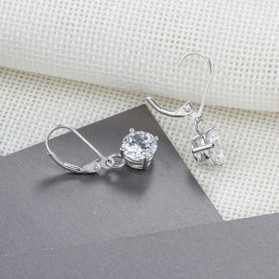 Personalized Alloy Plated Earrings Jewelry_4