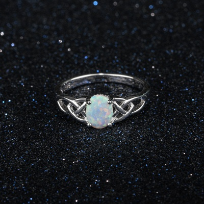 Chic Sterling Silver Ring Jewelry_5