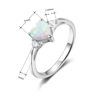 Sterling Silver Ring Jewelry For Women_6