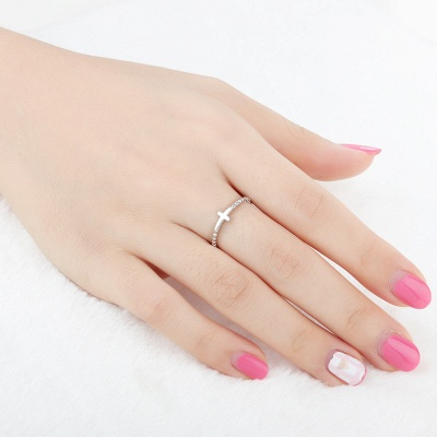 Chic Alloy Plated Rings for Bride_3