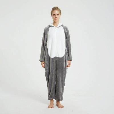 Adorable Adult Pyjamas for Women MashiMaro Onesie, Grey_1