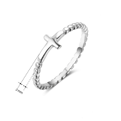 Chic Alloy Plated Rings for Bride_5