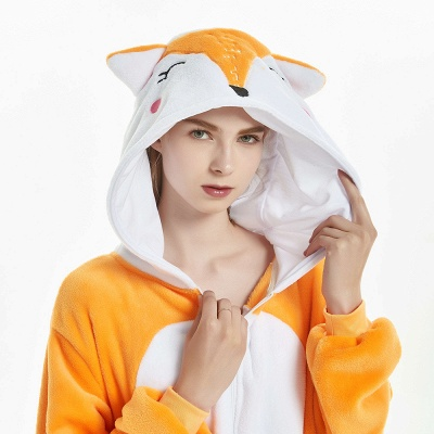 Adorable Adult Onesies Pajamas for Girls_16