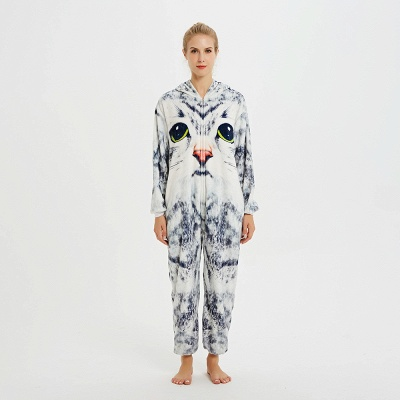Cute Hoodie Onesies Pyjamas for Women_1