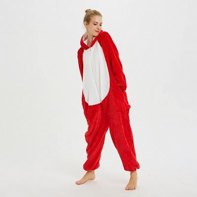Lovely Pajamas Sleepwear for Women Hoodie Onesies_17