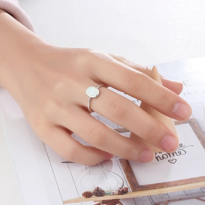 Alloy Plated Rings Jewelry for Ladies_6