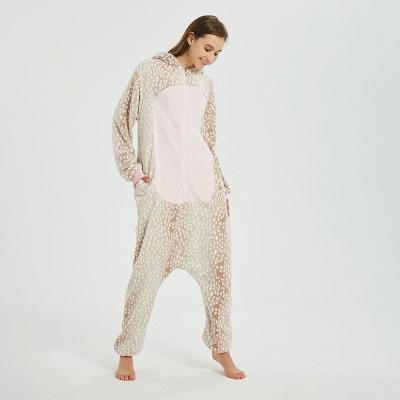 Adorable Adult Pyjamas for Women Deer Onesies_8