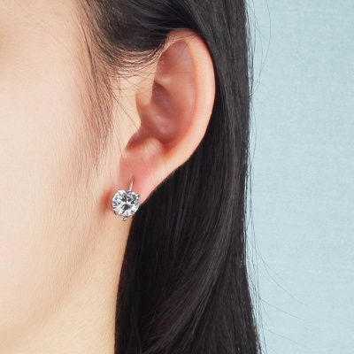 Personalized Alloy Plated Earrings Jewelry for Fashion Girls_3