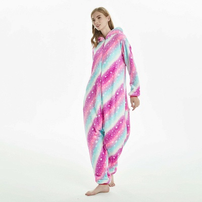 Downy Adult Coloful Onesies Pajamas for Women_9