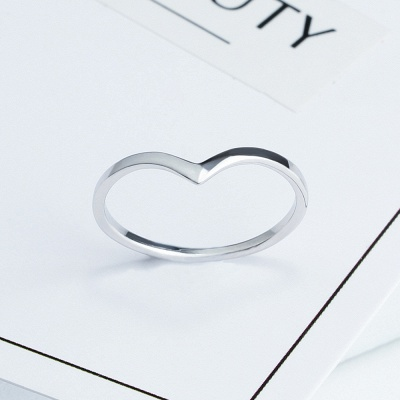 Sterling Silver Ring Jewelry For Fashion Girl_6