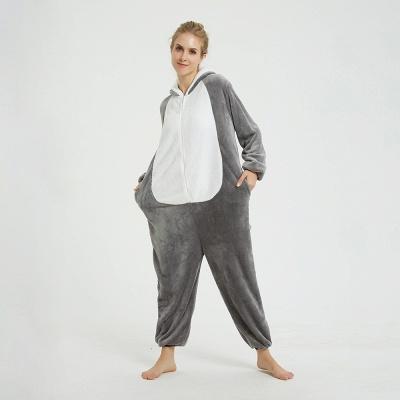 Adorable Adult Pyjamas for Women MashiMaro Onesie, Grey_7