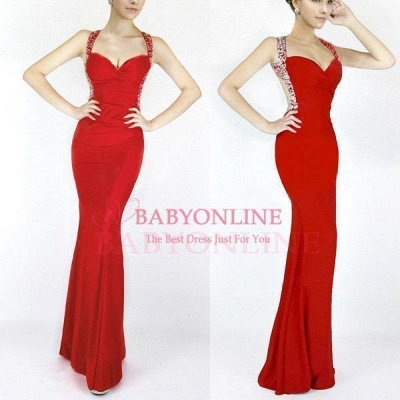 Cheap Sexy Mermaid Sweetheart Prom Dress in Stock_6