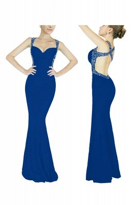 Cheap Sexy Mermaid Sweetheart Prom Dress in Stock_2