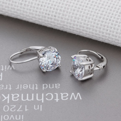 Personalized Alloy Plated Earrings Jewelry for Fashion Girls_7