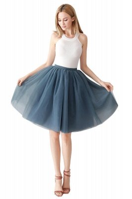 Jewel Sleevelss Knee Length A-line Cute Short Party Dresses_81