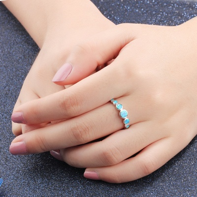 Alloy Plated Rings for Ladies_6