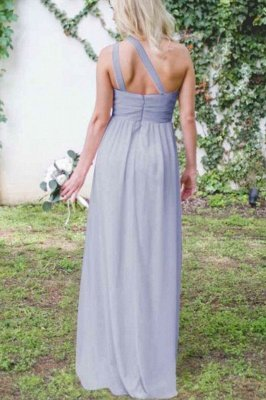 Lilac Convertible Long Cheap Chiffon Bridesmaid Dresses | Sexy Maid of Honor Dresses_5