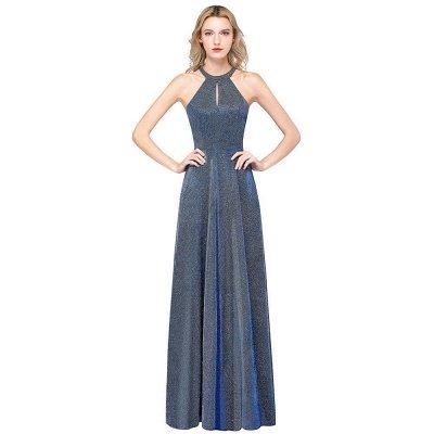 Fashion A-Line Halter Sleeveless Evening Dress On Sale_1