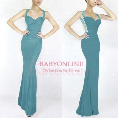 Cheap Sexy Mermaid Sweetheart Prom Dress in Stock_9
