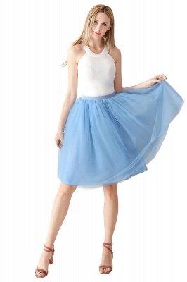Jewel Sleevelss Knee Length A-line Cute Short Party Dresses_67