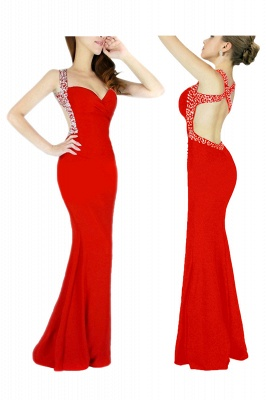 Cheap Sexy Mermaid Sweetheart Prom Dress in Stock_1