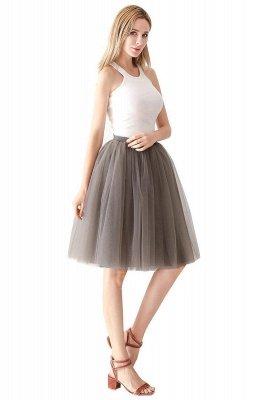 Jewel Sleevelss Knee Length A-line Cute Short Party Dresses_87