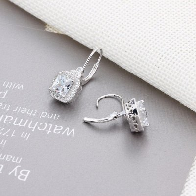 Chic Alloy Plated Earrings Jewelry for Ladies_4