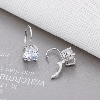 Personalized Alloy Plated Earrings Jewelry for Fashion Girls_4