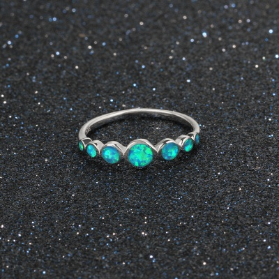 Alloy Plated Rings for Ladies_8