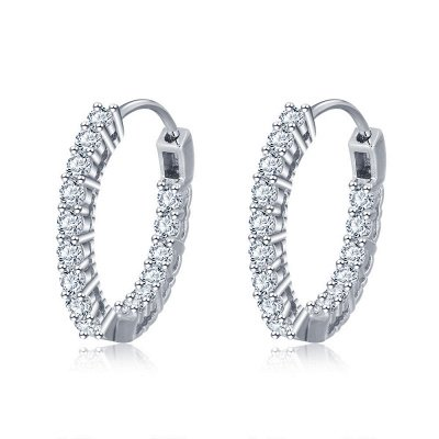 Personalized Alloy Plated Earrings