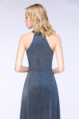Fashion A-Line Halter Sleeveless Evening Dress On Sale_7