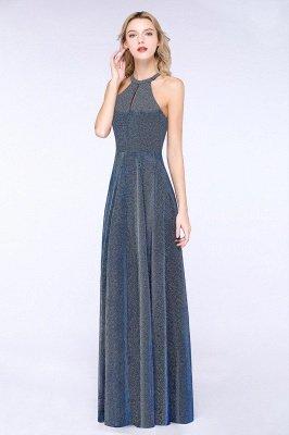Fashion A-Line Halter Sleeveless Evening Dress On Sale_4