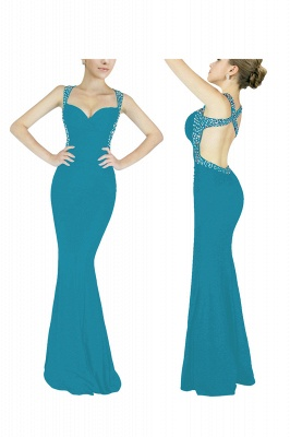 Cheap Sexy Mermaid Sweetheart Prom Dress in Stock_12