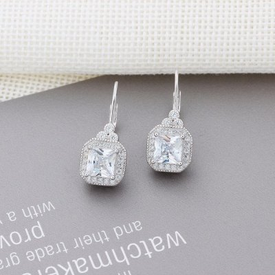 Chic Alloy Plated Earrings Jewelry for Ladies_5