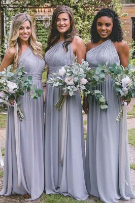 Lilac Convertible Long Cheap Chiffon Bridesmaid Dresses | Sexy Maid of Honor Dresses_2