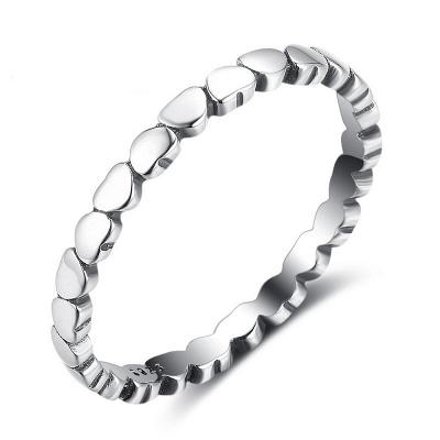 Elegant Alloy Plated Rings_1