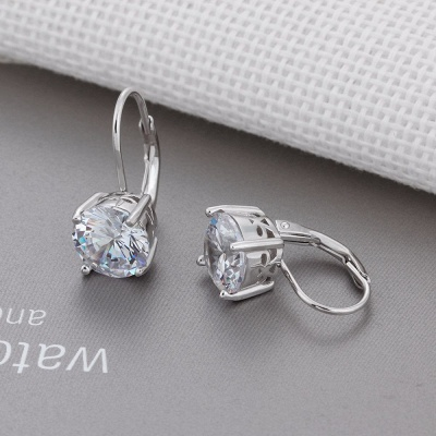 Personalized Alloy Plated Earrings Jewelry for Fashion Girls_8