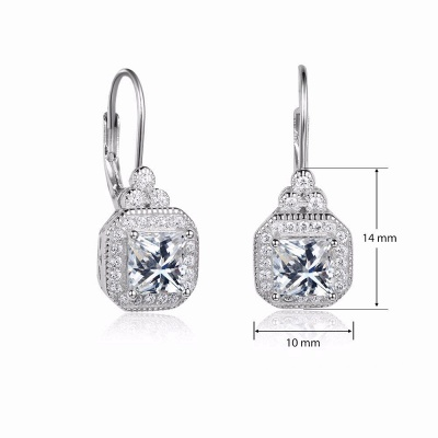 Chic Alloy Plated Earrings Jewelry for Ladies_6
