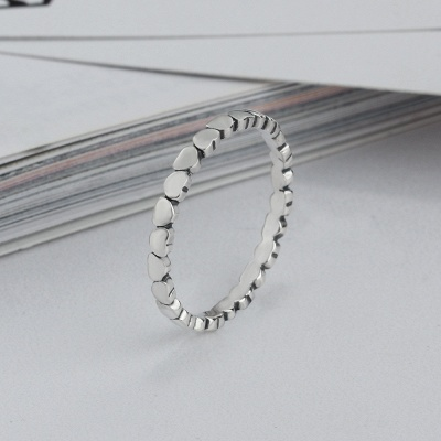 Elegant Alloy Plated Rings_5