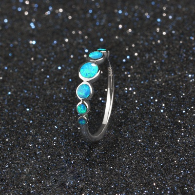 Alloy Plated Rings for Ladies_4