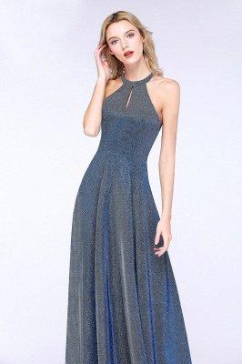 Fashion A-Line Halter Sleeveless Evening Dress On Sale_6