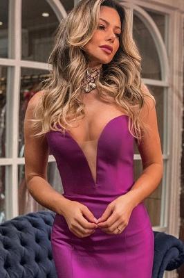 Sweetheart Sleeveless Backless Ruffles Tiered Floor Length Mermaid Zipper Prom Dresses_2