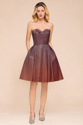 Sweetheart Sleeveless Backless Short A Line Homecoming Dresses | Cheap Cocktail Dresses_4