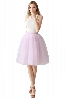 Jewel Sleevelss Knee Length A-line Cute Short Party Dresses_2